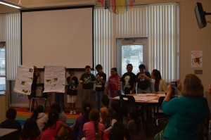Student presentations on October 1, 2014