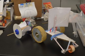 Sample robot projects.