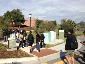 Field trip to Foothill College.