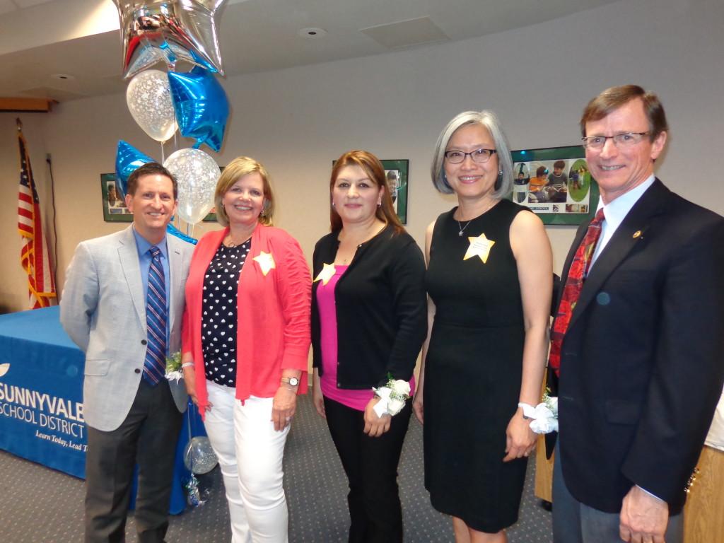 Dr. Gallagher, Rebecca Hansen, Emelda Aguilar, Annalee Wee, Dr. Picard