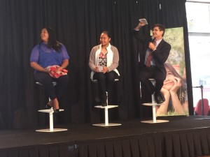 CMS student helps close 2015 Young Women's Leadership Summit