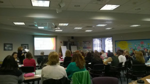 District administrators, principals, teachers, parents and students converge at annual Lyceum to review District goals.