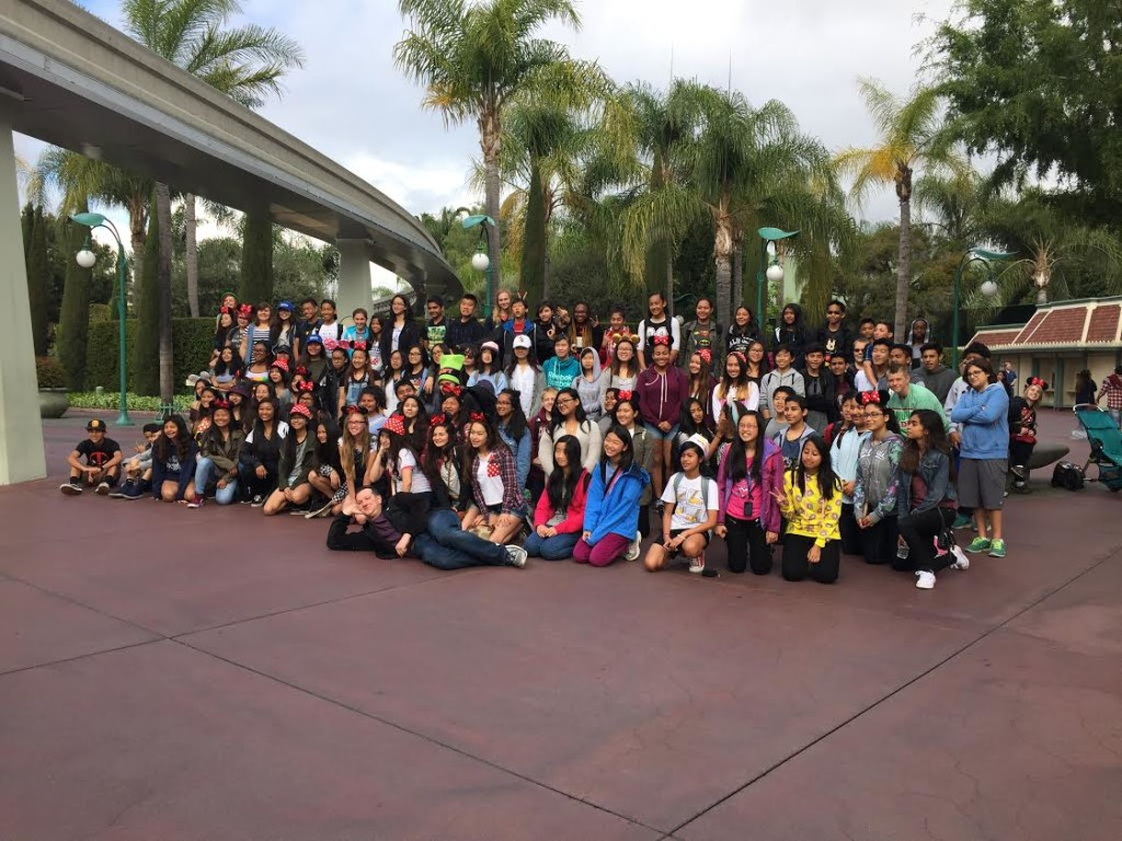 CMS Band at Disney