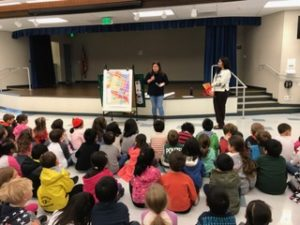 Sunnyvale City Planner teaches 120 kindergartners about what makes a successful city