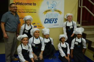 Students compete in Future Chefs to see who could come up with a healthy, kid-friendly dish