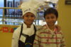 student chefs smiling