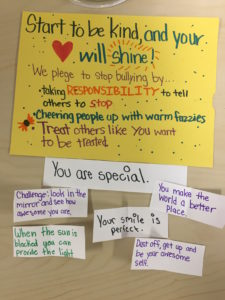 Fifth graders hope to battle bullying with kindness project