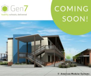 rendering of what Bishop's two-story classroom will look like
