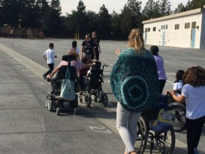 Students on the move with BAWSI Rollers