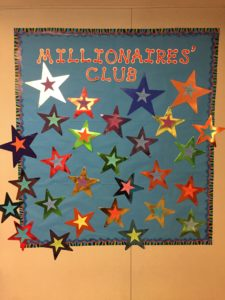 Millionaire's Club wall of fame