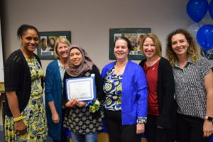 Iman Abdo recognized as Classified Employee of the Year