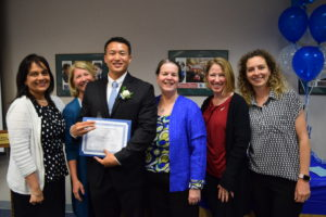 Alex Ha recognized as Teacher of the Year