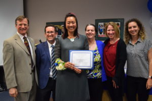 Pam Cheng recognized as Management Team Member of the year
