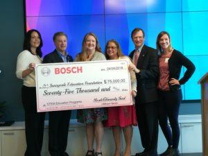 Bosch community fund donates $75,000