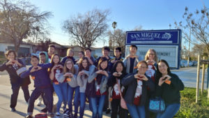 kings academy students at san miguel
