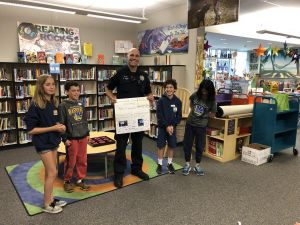 Cumberland student council and PTA raise money to protect DPS K9