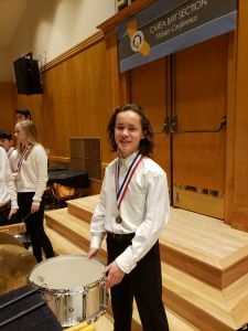 eighth grader Finn Burns selected to perform at San Jose State