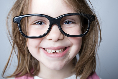 Smart, smiling student