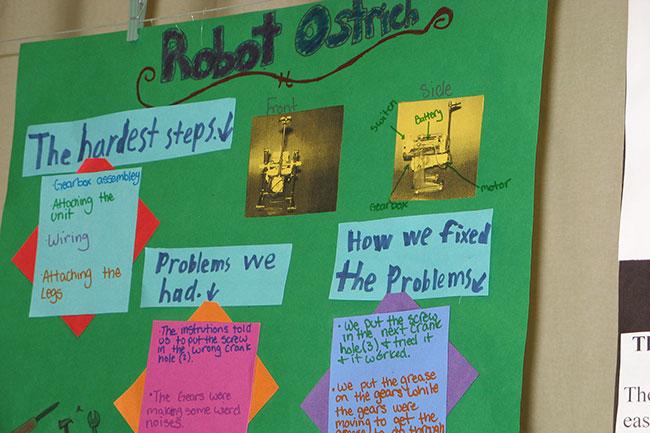 Columbia Middle School: Robotics Elective