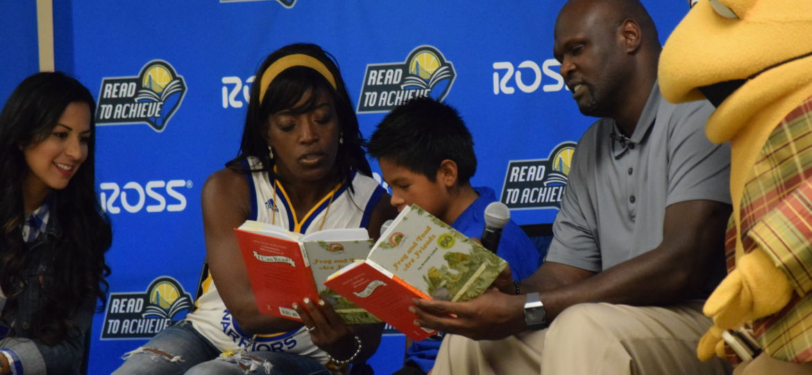 Warriors host Read to Achieve event at Vargas