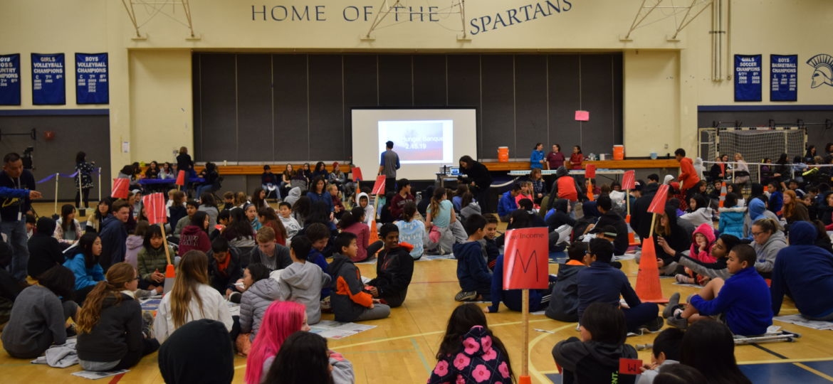 SMS seventh graders learn about global poverty