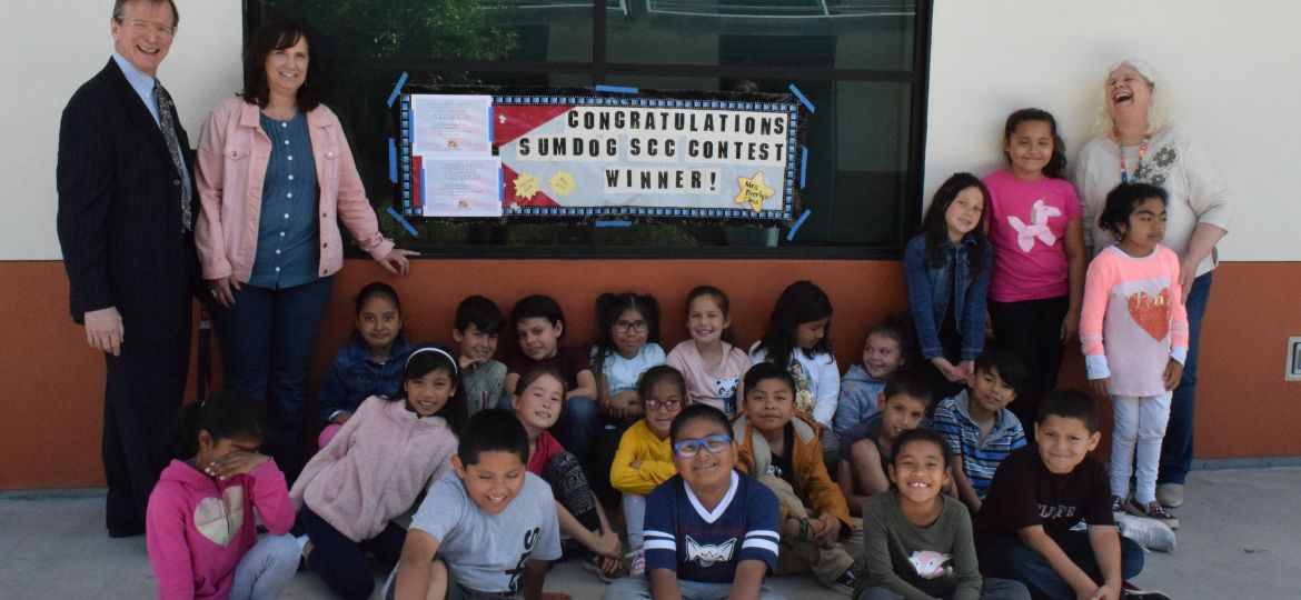 second graders top dogs in math Sumdog contest