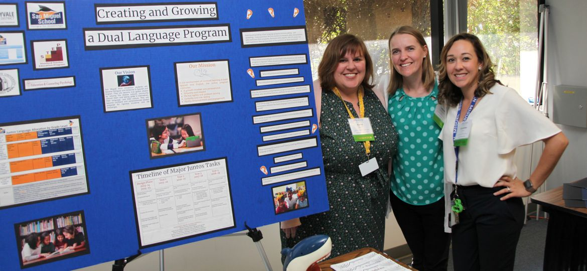 SSD presents at county language showcase