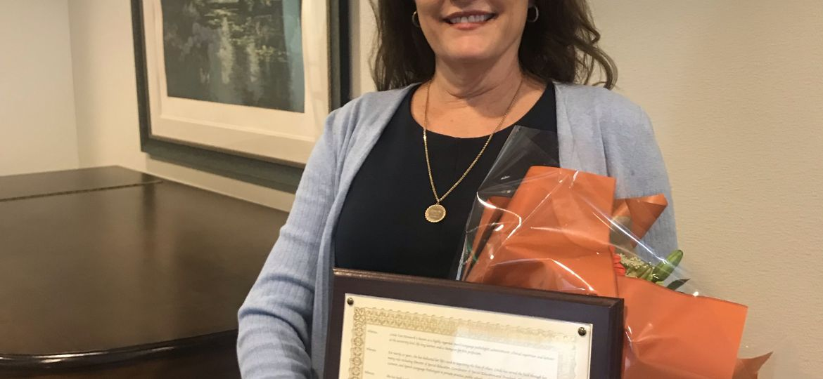 special education director recognized